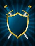 ξίφη ασπίδων Στοκ εικόνα με δικαίωμα ελεύθερης χρήσης