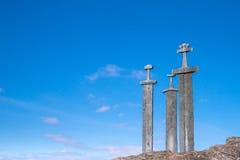 Ξίφη Βίκινγκ Στοκ Φωτογραφία