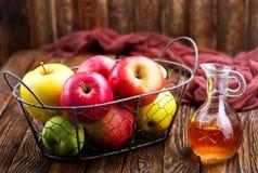 Ξίδι μηλίτη της Apple Στοκ εικόνα με δικαίωμα ελεύθερης χρήσης