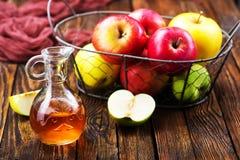 Ξίδι μηλίτη της Apple Στοκ Εικόνα