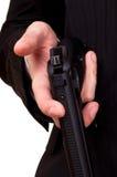 ξαναφόρτωμα πυροβόλων όπλω στοκ φωτογραφίες με δικαίωμα ελεύθερης χρήσης