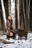 ξανθές άγρια περιοχές κορ&i Στοκ φωτογραφίες με δικαίωμα ελεύθερης χρήσης
