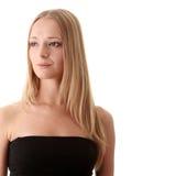 ξανθές νεολαίες γυναικώ& Στοκ Εικόνα