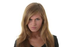 ξανθές νεολαίες γυναικώ& Στοκ Εικόνες
