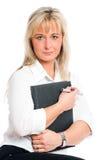ξανθές νεολαίες επιχει&rh Στοκ εικόνα με δικαίωμα ελεύθερης χρήσης