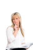 ξανθές νεολαίες επιχει&rh Στοκ φωτογραφίες με δικαίωμα ελεύθερης χρήσης