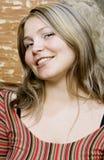ξανθές νεολαίες πορτρέτ&omicron Στοκ εικόνες με δικαίωμα ελεύθερης χρήσης