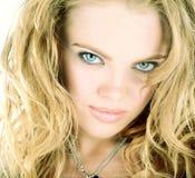 ξανθή γυναίκα ομορφιάς στοκ φωτογραφία με δικαίωμα ελεύθερης χρήσης