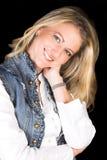ξανθή γυναίκα Στοκ εικόνα με δικαίωμα ελεύθερης χρήσης