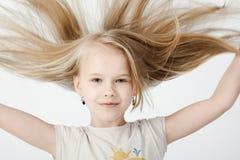 Κορίτσι στο στούντιο Στοκ εικόνα με δικαίωμα ελεύθερης χρήσης
