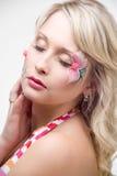 ξανθή όμορφη γυναίκα Στοκ φωτογραφίες με δικαίωμα ελεύθερης χρήσης