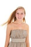ξανθός έφηβος κοριτσιών Στοκ εικόνα με δικαίωμα ελεύθερης χρήσης