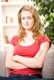 ξανθός έφηβος τριχώματος κ Στοκ φωτογραφία με δικαίωμα ελεύθερης χρήσης