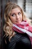 ξανθός κοντινός όμορφος τ&omicr Στοκ φωτογραφία με δικαίωμα ελεύθερης χρήσης