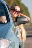 ξανθός οδηγός Στοκ φωτογραφία με δικαίωμα ελεύθερης χρήσης