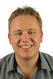 ξανθός περιστασιακός τύπ&omicron Στοκ φωτογραφία με δικαίωμα ελεύθερης χρήσης