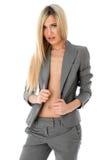 ξανθό γυμνό προκλητικό στο& Στοκ Εικόνες