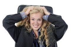 ξανθό εύθυμο αρσενικό κο&si Στοκ εικόνα με δικαίωμα ελεύθερης χρήσης