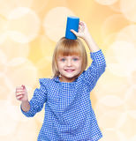 ξανθό κορίτσι λίγα Στοκ εικόνες με δικαίωμα ελεύθερης χρήσης