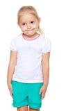 ξανθό κορίτσι λίγα Στοκ φωτογραφίες με δικαίωμα ελεύθερης χρήσης