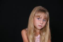 ξανθό κορίτσι λίγα αρκετά Στοκ Εικόνες