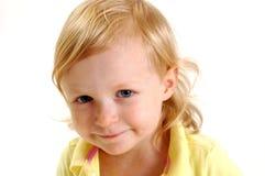 ξανθό κορίτσι λίγα στοκ εικόνες