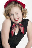 ξανθό κορίτσι λίγο μοντέλ&omicron Στοκ Εικόνες