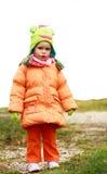 ξανθό κορίτσι μωρών Στοκ εικόνες με δικαίωμα ελεύθερης χρήσης