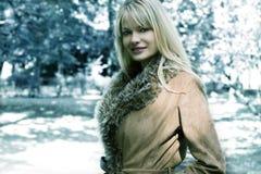 ξανθό κορίτσι μόδας Στοκ εικόνες με δικαίωμα ελεύθερης χρήσης