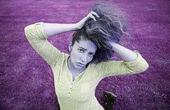 ξανθό κορίτσι προκλητικό Στοκ εικόνα με δικαίωμα ελεύθερης χρήσης