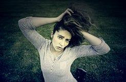 ξανθό κορίτσι προκλητικό Στοκ εικόνες με δικαίωμα ελεύθερης χρήσης