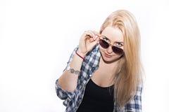 Ξανθό κορίτσι Στοκ εικόνα με δικαίωμα ελεύθερης χρήσης