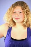 ξανθό κορίτσι sassy Στοκ φωτογραφίες με δικαίωμα ελεύθερης χρήσης