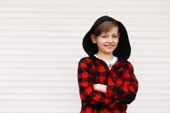 Ξανθό χαριτωμένο αγόρι Στοκ φωτογραφία με δικαίωμα ελεύθερης χρήσης