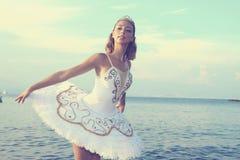 Ξανθό ballerina στοκ εικόνες