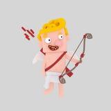 Ξανθό Cupid Στοκ εικόνα με δικαίωμα ελεύθερης χρήσης
