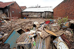 Ξαφνική πλημμύρα καταστροφής της Ινδονησίας - Garut 050 Στοκ εικόνα με δικαίωμα ελεύθερης χρήσης