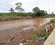 Ξαφνική πλημμύρα καταστροφής της Ινδονησίας - Garut 038 Στοκ εικόνες με δικαίωμα ελεύθερης χρήσης