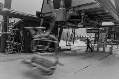 Ξεκίνημα ανελκυστήρων εδρών Στοκ εικόνα με δικαίωμα ελεύθερης χρήσης