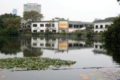 Ξενοδοχείο δυτικών λιμνών στη δυτική λίμνη Huizhou στοκ εικόνες