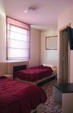 ξενοδοχείο δύο κρεβατοκάμαρων Στοκ Εικόνες