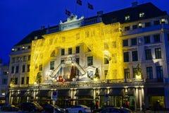 Ξενοδοχείο Δ ` Angleterre στην Κοπεγχάγη Στοκ Εικόνες