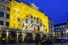 Ξενοδοχείο Δ ` Angleterre στην Κοπεγχάγη Στοκ εικόνα με δικαίωμα ελεύθερης χρήσης
