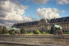 Ξενοδοχείο εθνικό des Invalides Λ ` Παρίσι Γαλλία Στοκ φωτογραφία με δικαίωμα ελεύθερης χρήσης