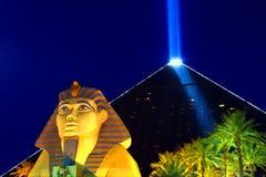 Ξενοδοχείο και χαρτοπαικτική λέσχη του Λας Βέγκας Luxor Στοκ Φωτογραφία