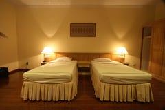 ξενοδοχείο κρεβατοκάμαρων Στοκ Εικόνες