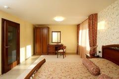 ξενοδοχείο κρεβατοκάμ&al Στοκ Εικόνα