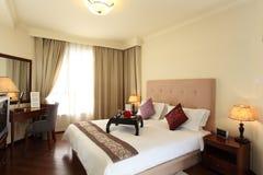 ξενοδοχείο κρεβατοκάμ&al Στοκ Φωτογραφίες