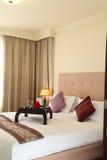 ξενοδοχείο κρεβατοκάμ&al Στοκ εικόνα με δικαίωμα ελεύθερης χρήσης