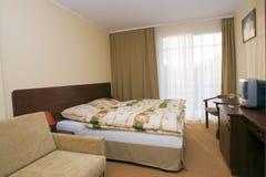 ξενοδοχείο κρεβατοκάμ&al Στοκ φωτογραφίες με δικαίωμα ελεύθερης χρήσης